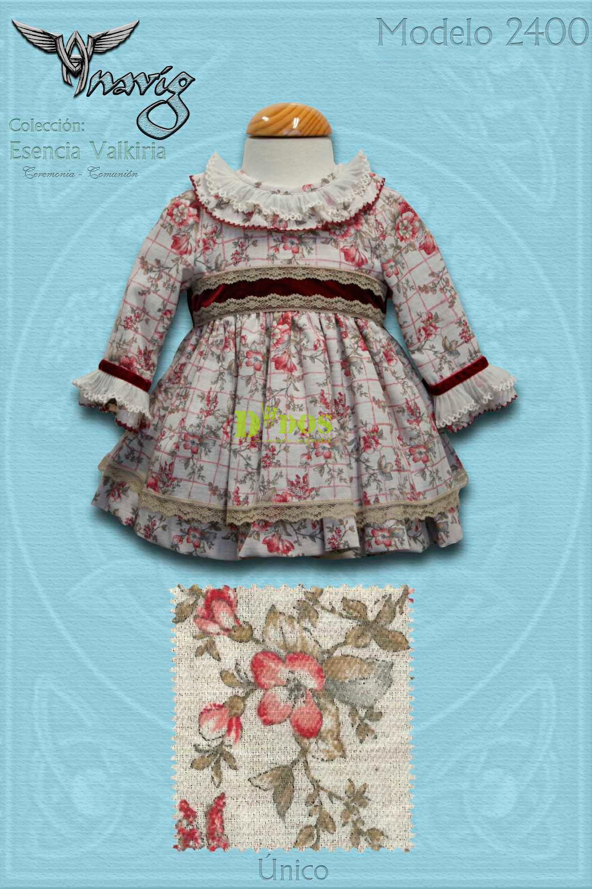 46b997334 Foto 1 de Vestido bebé 2400 Anavig
