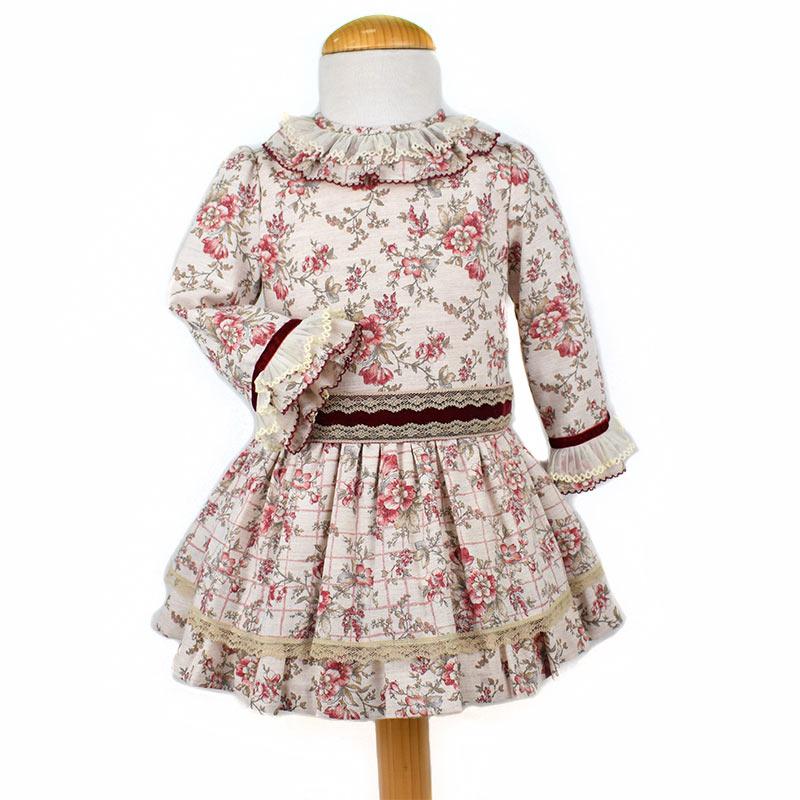490fa46ba Vestido infantil 740019 Anavig
