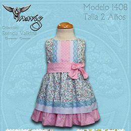 d2b0a9628 Vestidos de niña para vestir y celebraciones con estampados ...