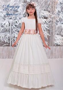 Fajines de vestidos de comunion