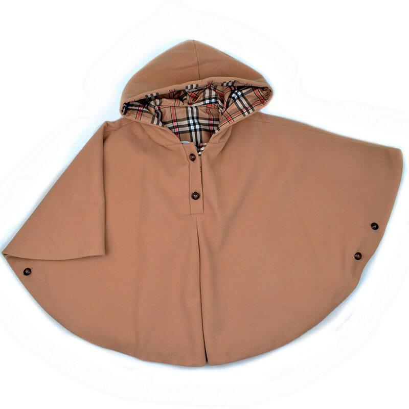 Capa niña camel Anavig. Abrigo y capas para niña de otoño invierno ... 2d0102220835