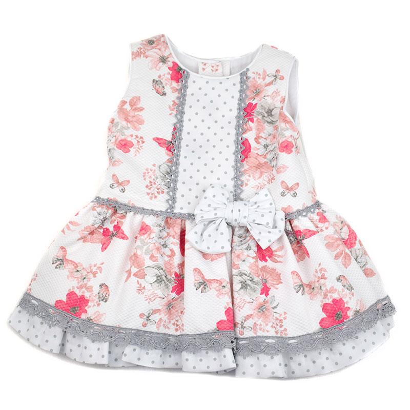 33ddbd8dd8c07 Vestido bebé 4414 Anavig. Vestidos de bebé colección 2018 las nueve ...