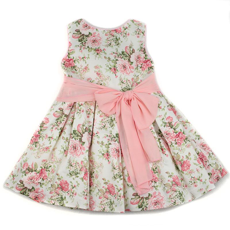 eba9a85d7868d Vestido infantil 1412 Anavig. Nueva colección primavera verano 2018 ...