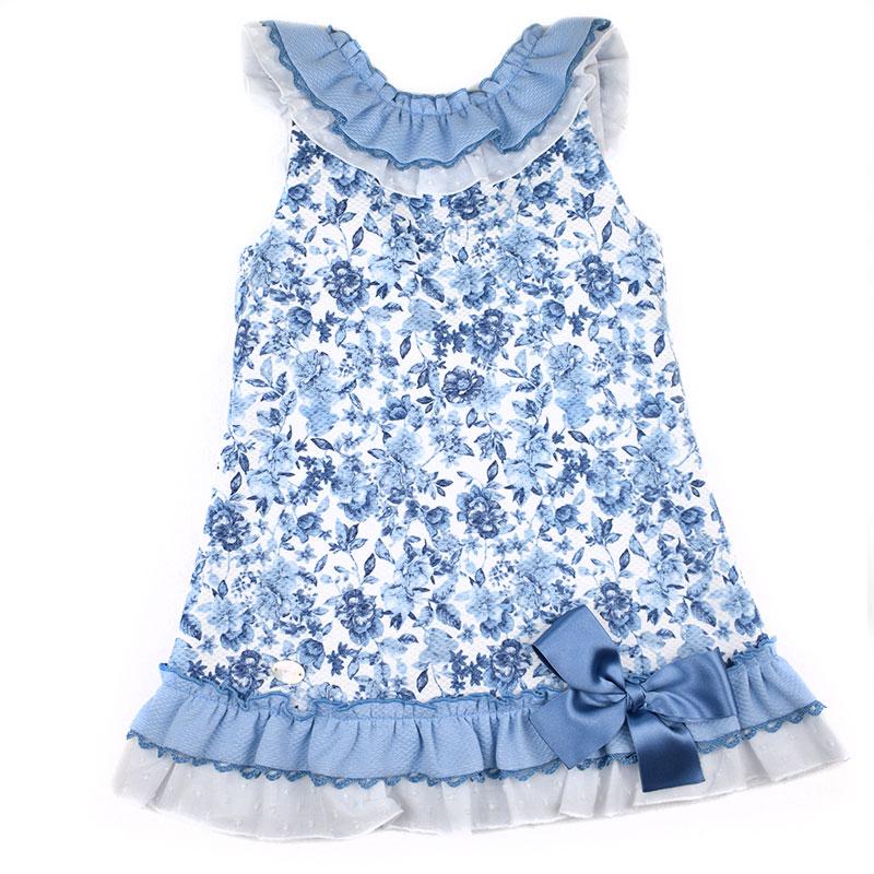 62b0151a4 Vestido infanitl 18234 Basmartí. Vestidos de niña baratos. Envío ...