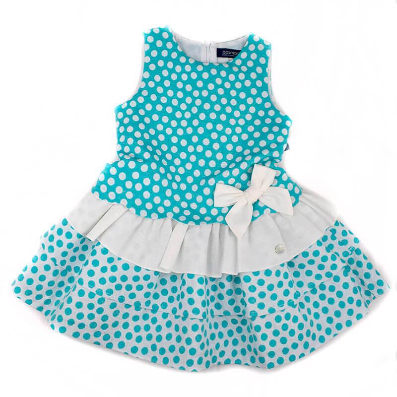 7f09b291e Vestido Basmarti 18171 TG. Vestidos de niña primavera verano 2018 en ...