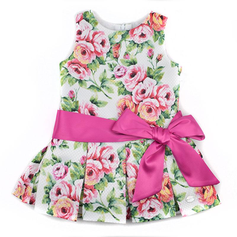 147d946b0 Vestido infantil 18194 Basmartí. Nueva colección primavera verano ...