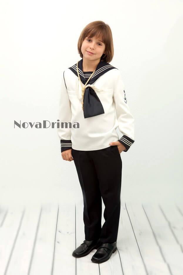 82eaa2565 Traje marinero 40 Novadrima. Trajes de comunión para niño en ...