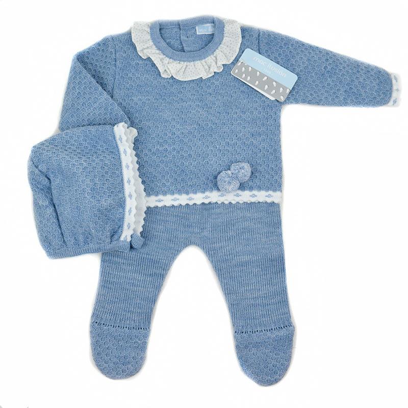 289882038 Conjunto bebé recien nacido tres piezas 7018 Mac. Trajecitos bebé ...