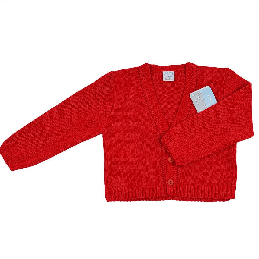 exuberante en diseño elegante en estilo 60% de liquidación Chaqueta niño 6860 mac rojo