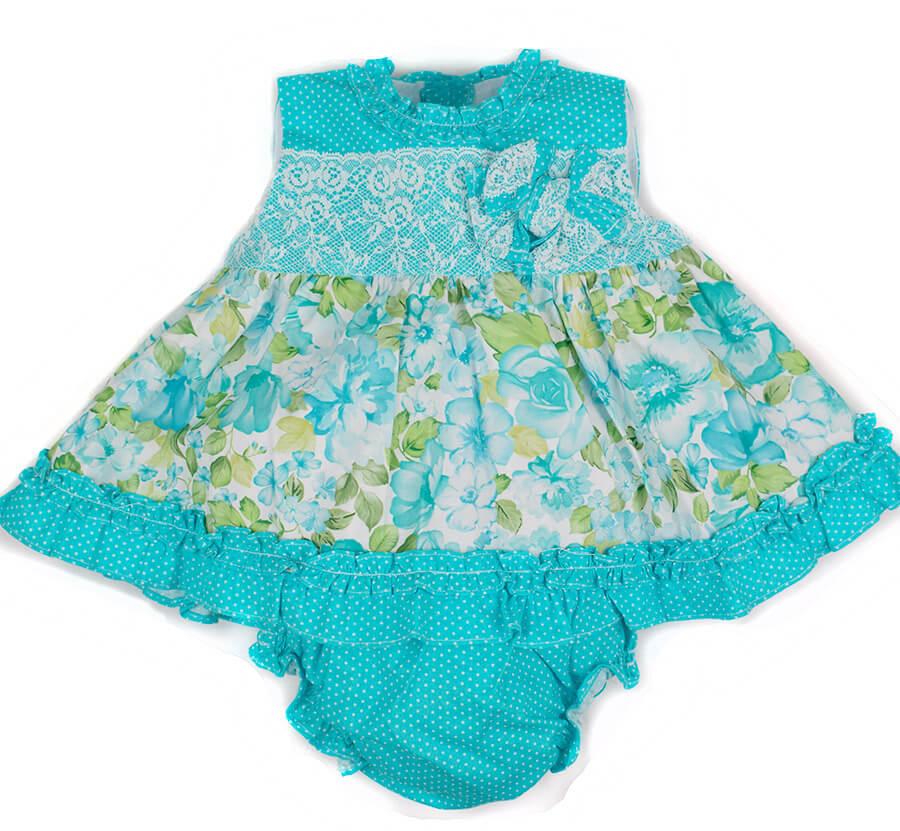 7fcc28eba Jesusín bebé verde agua. Ropa infantil en oferta y outlet por fin de ...