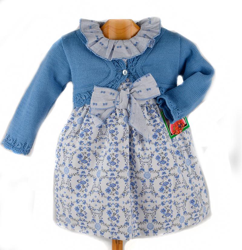 4e2aadcaf Vestido bebé 9688 Babyferr. Vestido bebé con chaqueta en color ...