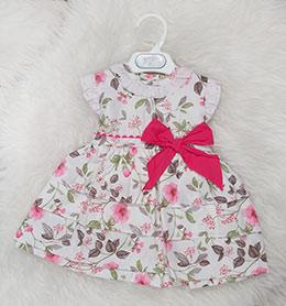 2ec6483ef Vestido bebe flores Babyferr 8519, en Dedos Moda Infantil, boutique infantil  online. Tienda