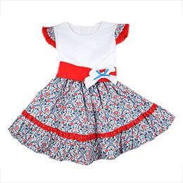 50c24240acbb Vestido infantil 9562 Babyferr, en Dedos Moda Infantil, boutique infantil  online. Tienda bebés