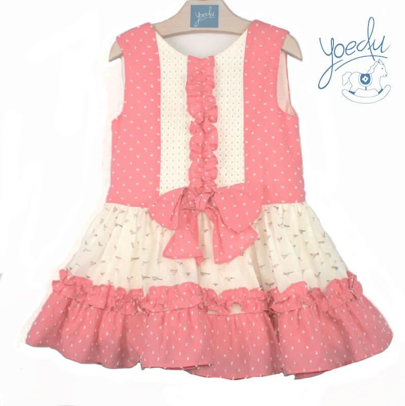 093998a4d Foto 1 de Vestido infantil de niña 516 Yoedu, OUTLET VERANO, en Dedos Moda