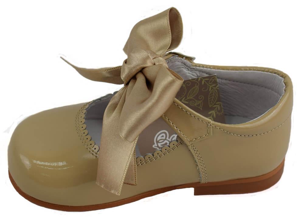0ff4bd5ad Charol De Merceditas Camel Zapato Tipo En Piel Verano ZSwawqUx ...