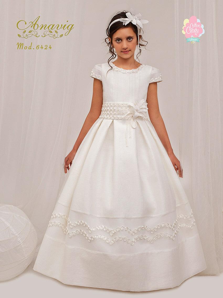 0d6605fa5b Vestido comunión 642416 Anavig. Vestidos de comunión baratos en ...